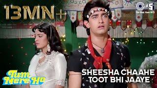 Sheesha Chahe Toot Bhi Jaye - Tum Mere Ho -  Aamir Khan & Juhi Chawla - Full Song