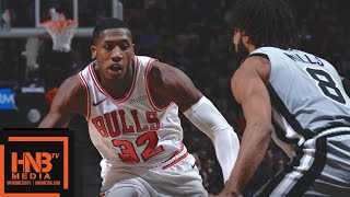 San Antonio Spurs vs Chicago Bulls Full Game Highlights | 12.15.2018, NBA Season