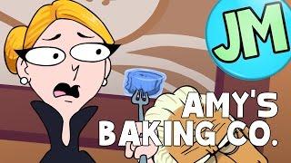 Crazy Amy's Baking Company (Kitchen Nightmares Parody) - Jaxamoto
