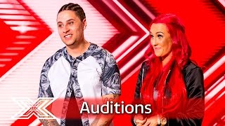 He Knows She Knows give an engaging performance | Auditions Week 3 | The X Factor UK 2016