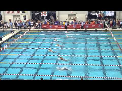 Nations Capitol Invite 2015---Brittany 100 yard breaststroke A finals