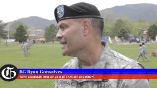Fort Carson change of command