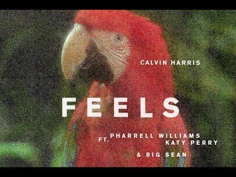 Calvin Harris - Feels ft. Pharrell Williams, Katy Perry, Big Sean ( Full Audio )