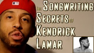 HOW TO RAP: Kendrick Lamar's Song Structure REVEALED In Minutes, Step-By-Step (