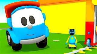 Leo el Pequeño Camión - Carritos para niños - Pequeño Leo - Leo y el lavado de autos