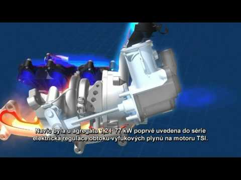 1 2 TSI technika motoru
