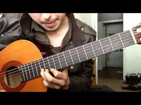 Mujeres Divinas Vicente Fernandez Requinto Tutorial Leccion de Guitarra Parte 1