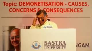 Demonetisation | Causes | Concerns & Consequences | Shri S Gurumurthy