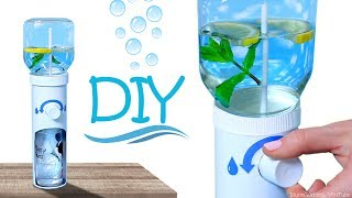 How To Make Working Water Dispenser – DIY Desk Water Cooler