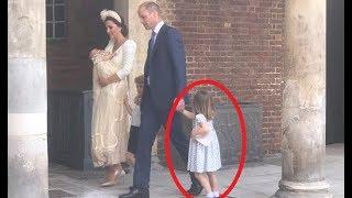 """WATCH!!! Princess Charlotte TELLS Paparazzi """"You"""