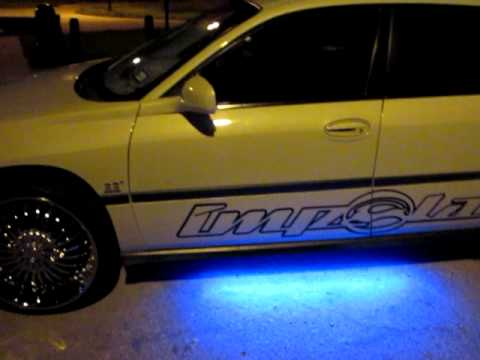 2003 Chevy Impala Sitting On 22 s Night Video