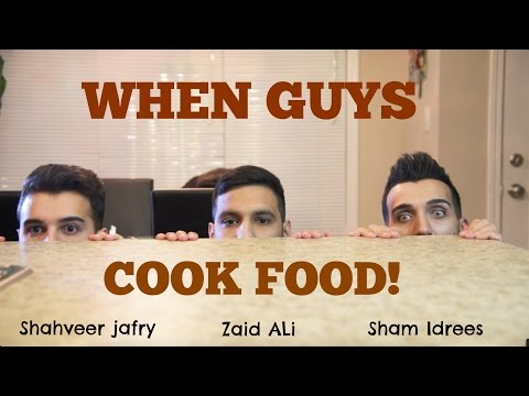When guys COOK food