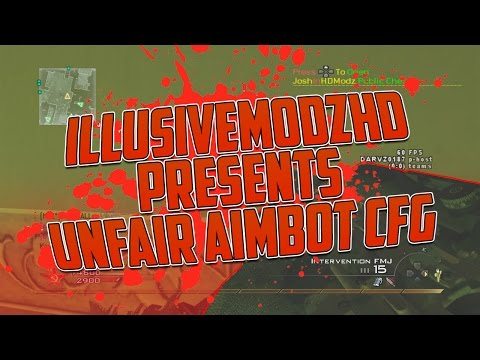 JoshInHDModz | Mw2 1.14 UNFAIR AIMBOT CFG Non Host! | No Jailbreak+Download | Public Cheater