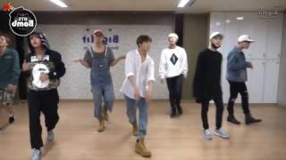 Dance practice BTS baepsae