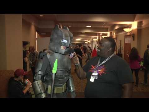 Xxx Mp4 Batman V Fatbat The Q Interviews Cosplayer At Motor City Comic Con 2016 3gp Sex