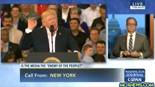 "C-SPAN: Is U.S. Mainstream News Media ""The Enemy Of The People"" As President Trump Has Said?"
