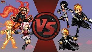 Naruto VS Ichigo | DEATH BATTLE. . . but its animated in SethTheProgrammer's imagination.