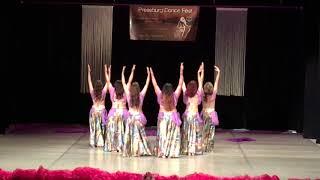 Pressburg Dance Fest 2017 - TS Warda - Raks Sharki - 2. místo