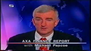 National Nine News - Finance Report (3.12.2002)