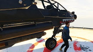 APACHE ATTACK HELICOPTER IN GRAND THEFT AUTO ONLINE - FH-1 Hunter