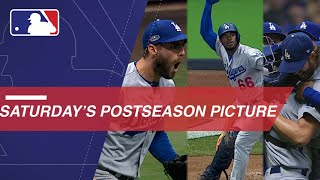 Dodgers outlast Brewers in memorable NLCS Game 7