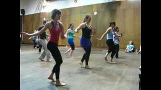 Danza africana en Amberes, Bélgica