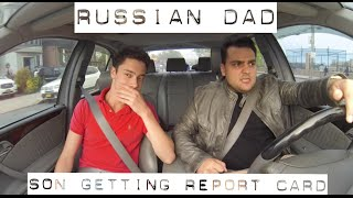 Shit Russian Dad Say When  Son Gets Report Card