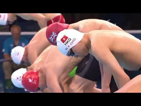 Swimming | Men's 100m Breaststroke - SB14 Heat 2 | Rio 2016 Paralympic Games