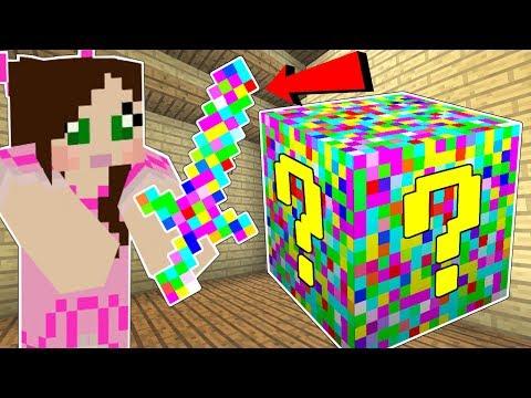 Minecraft GLITCH LUCKY BLOCK GLITCHES ERRORS & MISSING TEXTURES Mod Showcase