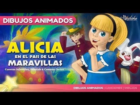Alicia en el país de las Maravillas Cuentos Infantiles en Español Cuentos para niños