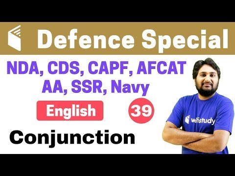 Xxx Mp4 7 00 PM NDA CDS CAPF AFCAT 2018 English By Harsh Sir Conjunction 3gp Sex