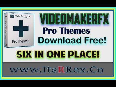 Xxx Mp4 VideomakerFX Pro Theme Download Free W ItsRRex Six In One 3gp Sex