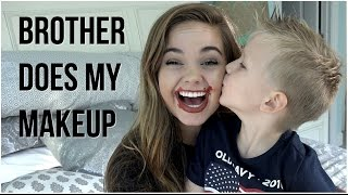 I HAVE ANOTHER BROTHER! | My Little Brother Does My Makeup!