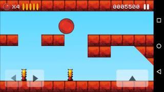 Bounce original level 5 walkthrough