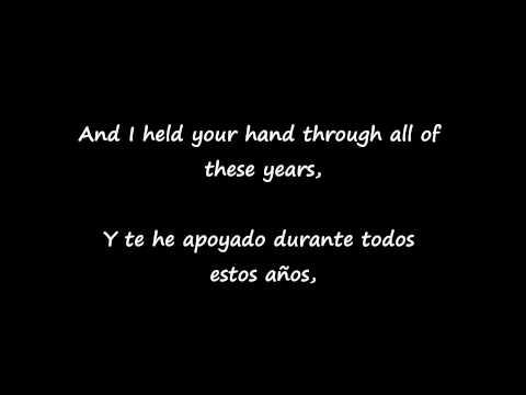 Evanescence My immortal Subtitulada en español e inglés