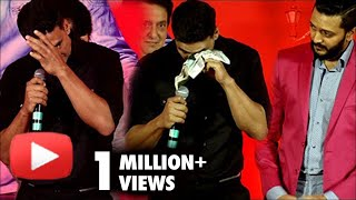 OMG ! Akshay Kumar CRIES In Public At Housefull 3 Success Party