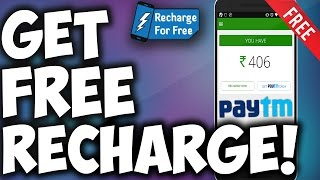 Get Free Unlimited Recharge And Paytm Cash With Proof NEW! 2016! [How-To]
