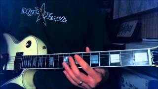 Def Leppard - Photograph - Intro guitar lesson