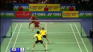 [8/8] Demi-finale MX : N. Widianto & L. Natsir vs Yong Dae Lee & Hyo Jung Lee (All England 2010)