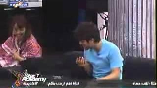 ستار اكاديمي7- ناصيف يتثاقل على بدرية ورحمة بتضحك