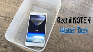 Redmi Note 4 Water Test went well or not?
