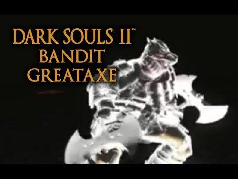 Dark Souls 2 Bandit Greataxe Tutorial (dual wielding w/ power stance)