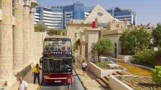 Dubai - big bus city tour (red route) 4K