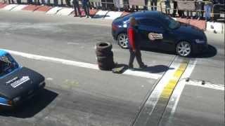 1/4 de milla Olavarria Audi TT vs Fiat 147