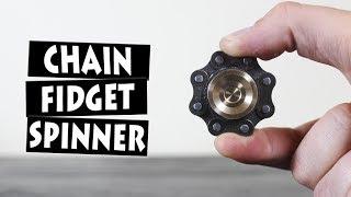 DIY Bike Chain Hand Spinner Fidget Toy