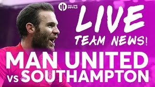 EFL CUP FINAL Manchester United vs Southampton | LIVE STREAM TEAM NEWS
