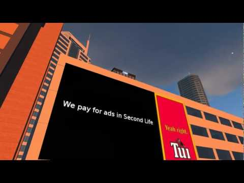 Tui - we pay for ads in SL