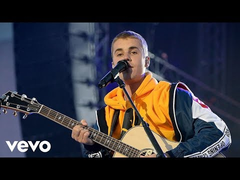 Justin Bieber Love Yourself & Cold Water One Love Manchester
