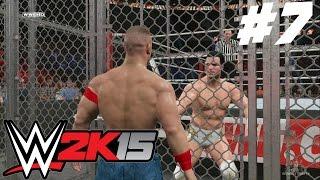 WWE 2K15 2K Showcase Walkthrough - WWE 2K15 2K Showcase - Del Rio vs Cena vs CM Punk HIAC 2011 (Hustle, Loyalty, Disrespect Part 7)