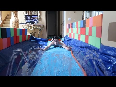 Xxx Mp4 CRAZY INDOOR SLIP N SLIDE FLOODED OUR HOUSE FaZe Rug 3gp Sex